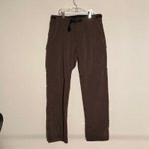 Men's Prana Stretch Pant Medium Brown Breathe